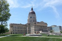 Photo of the Kansas Captiol