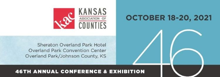 46th Annual Kansas Association of Counties 2021 Annual Conference and Exhibition Logo